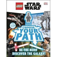 LEGO STAR WARS CHOOSE YOUR PATH HC W MINIFIGURE