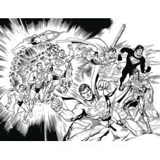 DF ACTION COMICS #1000 B&W SGN JURGENS EXC