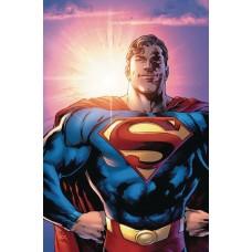 DF SUPERMAN #1 ELITE GOLD SGN BENDIS