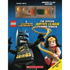 LEGO OFF JUSTICE LEAGUE TRAINING MANUAL WITH MINIFIGURE