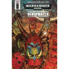 WARHAMMER 40000 DEATHWATCH #3 (OF 4) CVR A LISTRANI