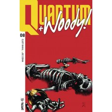 QUANTUM & WOODY (2017) #8 (NEW ARC) CVR B ULTRA FOIL SHAW
