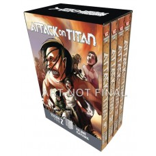 ATTACK ON TITAN SEASON TWO BOX SET VOL 01 (MR)