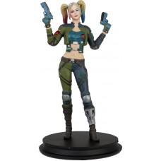 DC INJUSTICE HARLEY QUINN GREEN COSTUME PX DELUXE STATUE