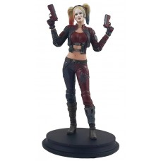 DC INJUSTICE HARLEY QUINN RED COSTUME PX DELUXE STATUE