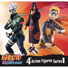 NARUTO SHIPPUDEN 4IN POSEABLE ACTION FIGURE ASST