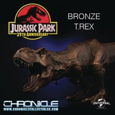 CHRONICLE JURASSIC PARK BRONZE T-REX STATUE (Net)