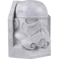 SW STORMTROOPER STONEWORKS FAUX MARBLE BOOKEND (Net)