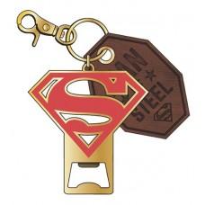 DC SUPERMAN METAL BOTTLE OPENER KEYCHAIN