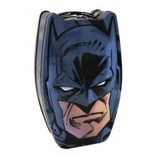 BATMAN HEAD SHAPE TIN CARRY ALL 12PC ASST