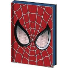 SPIDER-MAN WEB-HEAD METAL/PVC EMBELLISHED JOURNAL 10PC DISP