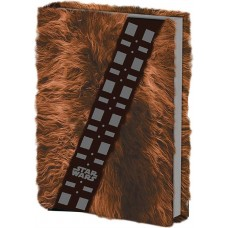SW CHEWBACCA FUR COVERED JOURNAL 10PC DISP