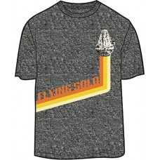 SW SOLO FLYING SOLO PX GREY T/S LG