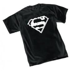 SUPERMAN SHATTER SYMBOL T/S MED