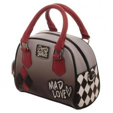 DC HARLEY QUINN MAD LOVE MINI BOWLER HANDBAG