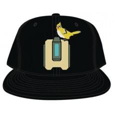 OVERWATCH BASTION CORE BLACK SNAPBACK CAP