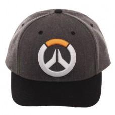 OVERWATCH EMBLEM CURVED SNAPBACK CAP