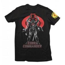 GI JOE COBRA COMMANDER T/S LG