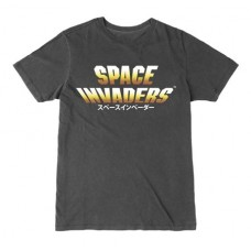 SPACE INVADERS JAPANESE LOGO T/S SM