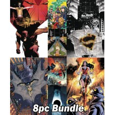 DC #1'S FROM MAY PREVIEWS 8PC BUNDLE @A