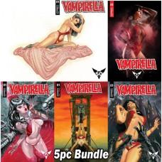 VAMPIRELLA #1 CVR A B C D E 5PC BUNDLE @A