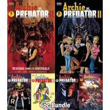 ARCHIE VS PREDATOR 2 #1 (OF 5) CVR A B C D E F 6PC BUNDLE @A