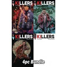 KILLERS #1 (OF 4) CVR A B C D 4PC BUNDLE @A