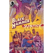 BLACK HAMMER JUSTICE LEAGUE #1 (OF 5) CVR A WALSH @S