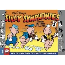 SILLY SYMPHONIES HC VOL 02 COMP DISNEY CLASSICS @D