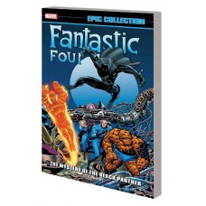 FANTASTIC FOUR EPIC COLLECTION TP MYSTERY OF BLACK PANTHER @D