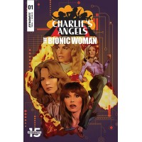 CHARLIES ANGELS VS BIONIC WOMAN #1 CVR A STAGGS @S