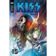 KISS END #4 CVR A SAYGER @D