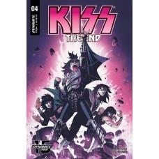KISS END #4 CVR B BROWN @D