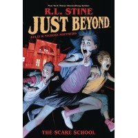 JUST BEYOND SCARE SCHOOL ORIGINAL GN RL STINE @T