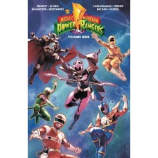 MIGHTY MORPHIN POWER RANGERS TP VOL 09 @U