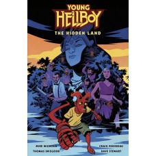 YOUNG HELLBOY THE HIDDEN LAND HC (C: 0-1-2)