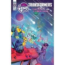 MLP TRANSFORMERS II #4 (OF 4) CVR A TONY FLEECS