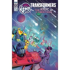 MLP TRANSFORMERS II #4 (OF 4) CVR B BETHANY MCGUIRE-SMITH