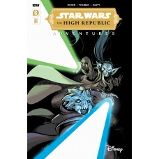 STAR WARS HIGH REPUBLIC ADVENTURES #6 CVR A TOLIBAO (C: 1-0-