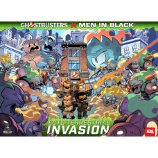 GHOSTBUSTER MEN IN BLACK ECTO-TERRESTRIAL INVASION