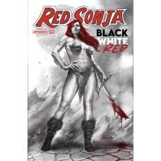 RED SONJA BLACK WHITE RED #1 CVR A PARRILLO