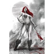 RED SONJA BLACK WHITE RED #1 CVR L PARRILLO LTD VIRGIN (C: 0