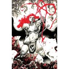 RED SONJA BLACK WHITE RED #1 CVR N TAN LTD VIRGIN (C: 0-1-2)