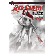RED SONJA BLACK WHITE RED #1 CVR O DEIBERT & STAGGS SGN ATLA