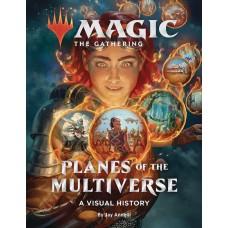 MTG PLANES OF MULTIVERSE VISUAL HISTORY HC (C: 0-1-0)