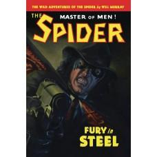 WILD ADV THE SPIDER SC NOVEL VOL 02 FURY IN STEEL (C: 0-1-0)