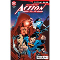 DF ACTION COMICS 2021 ANNUAL #1 KENNEDY JOHNSON SGN (C: 0-1-
