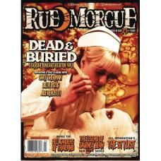 RUE MORGUE MAGAZINE #201 JULY 2021 (C: 0-1-0)