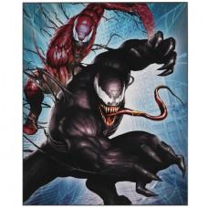 SPIDER-MAN VENOM JUMPING 16IN WOOD WALL ART (C: 1-1-2)