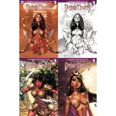 DEJAH THORIS #0 COVER A B C D SET